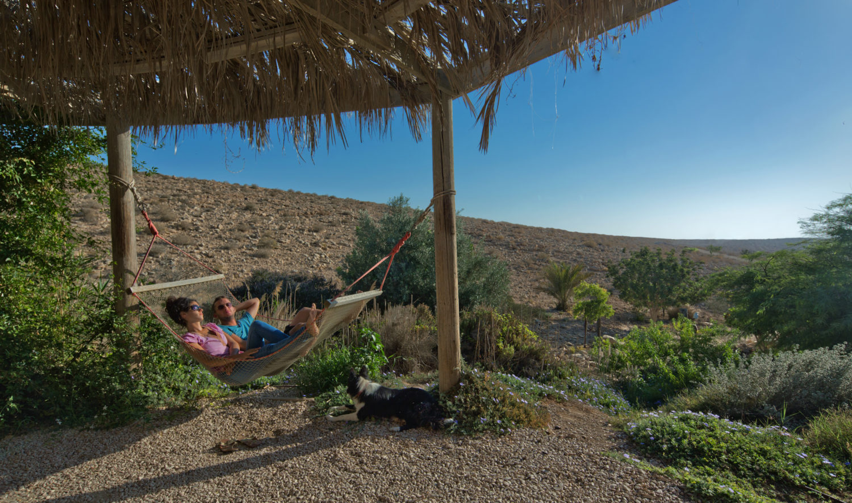 Relaxen in der Israelischen Wüste / / Bild: Israeli Ministry of Tourism, www.info.goisrael.com (Dafna Tal)