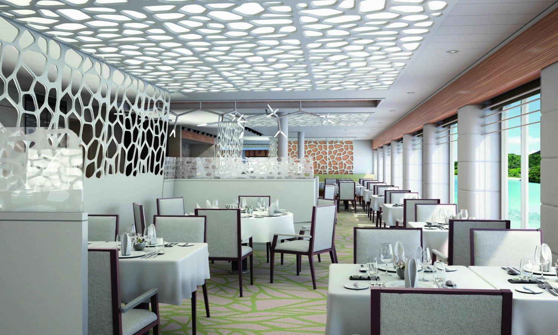 Hauptrestaurant Hapag Llyod Cruises