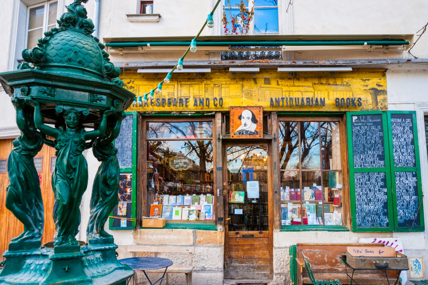 Buchladen Shakespeare & Company Paris