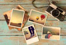Reiseandenken Fotografien