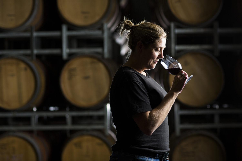 Rebecca Willson hat den richtigen Riecher für guten Wein.