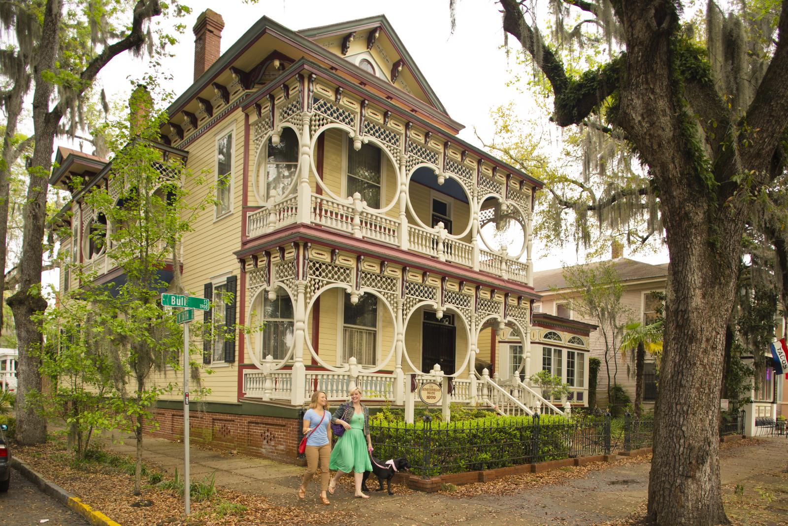 Das Gingerbread House in Savannah