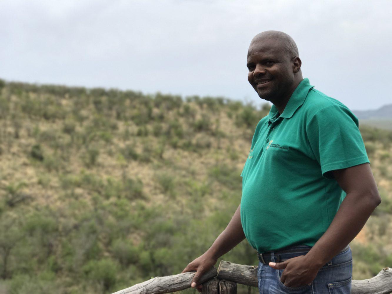 Reserve Manager Moremi Keabetswe / Bild: Yvonne Beck
