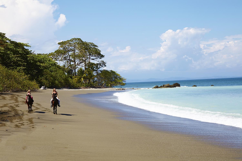 Ausritte am Strad Costa Ricas - Ein Traum!