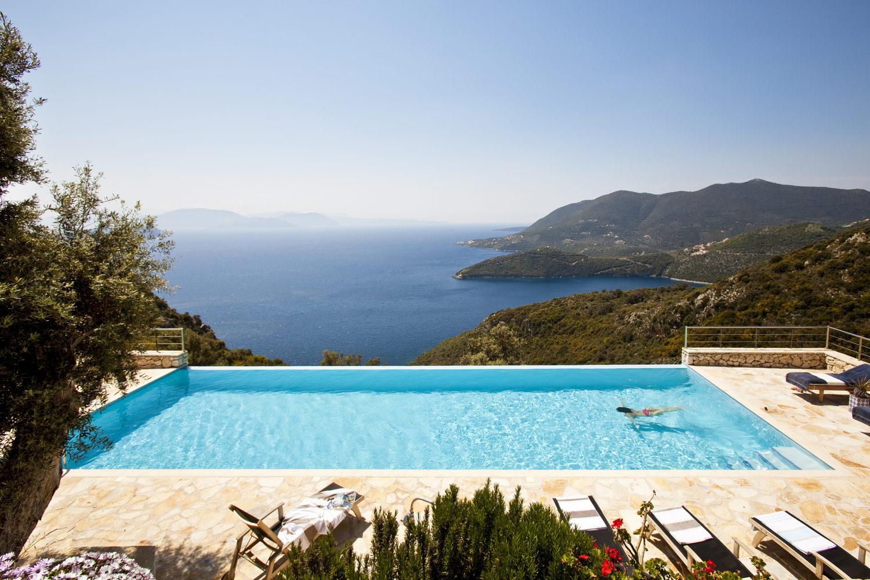 """Cape Lougi"" Thinking Traveller - Lefkada, Ionische Inseln, Griechenland"