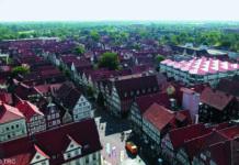 Celle in Niedersachsen von Oben