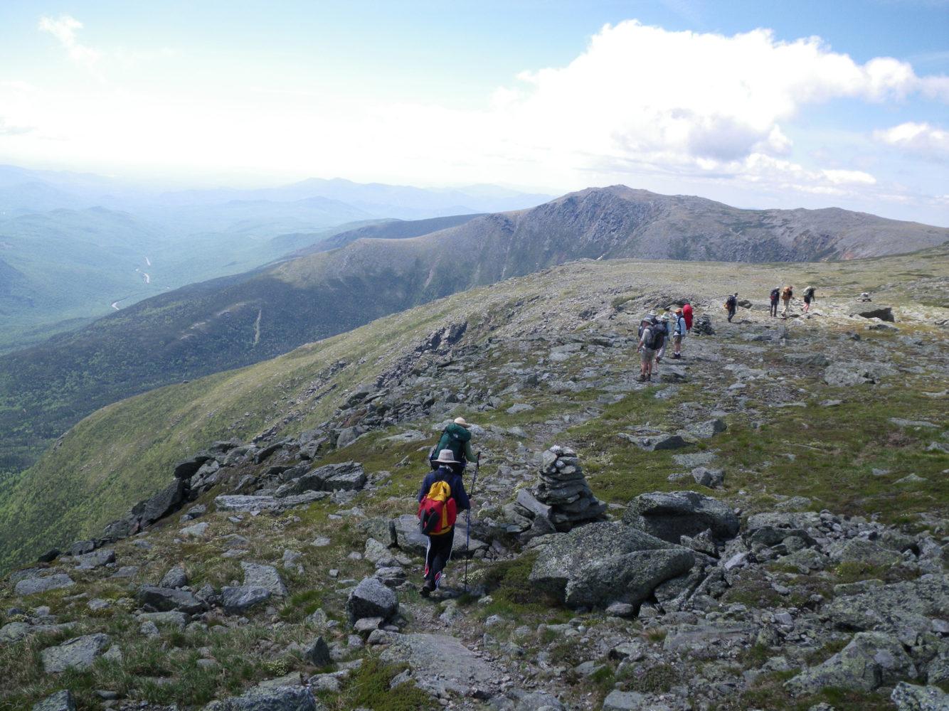 Auf dem Mount Washington kurz vor dem Gipfel / Bild: Appalachian Mountain Club