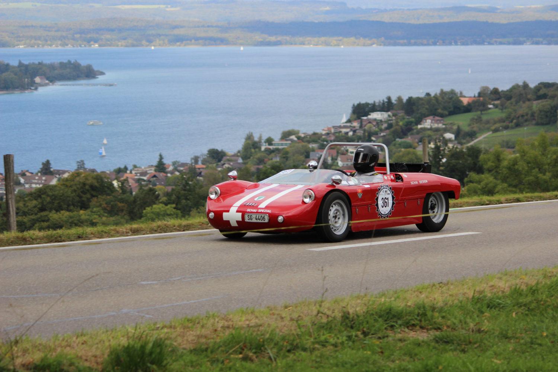In Steckborn, idyllisch am Schweizer Bodensee gelegen, haben Autorennen seit 1955 Tradition. /Bild: Reto Mueller