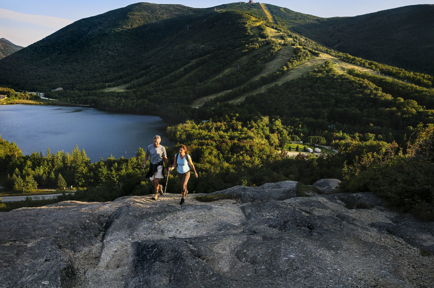 Wandern am Artist's Bluff / Bild: New Hampshire Division of Travel and Tourism Development