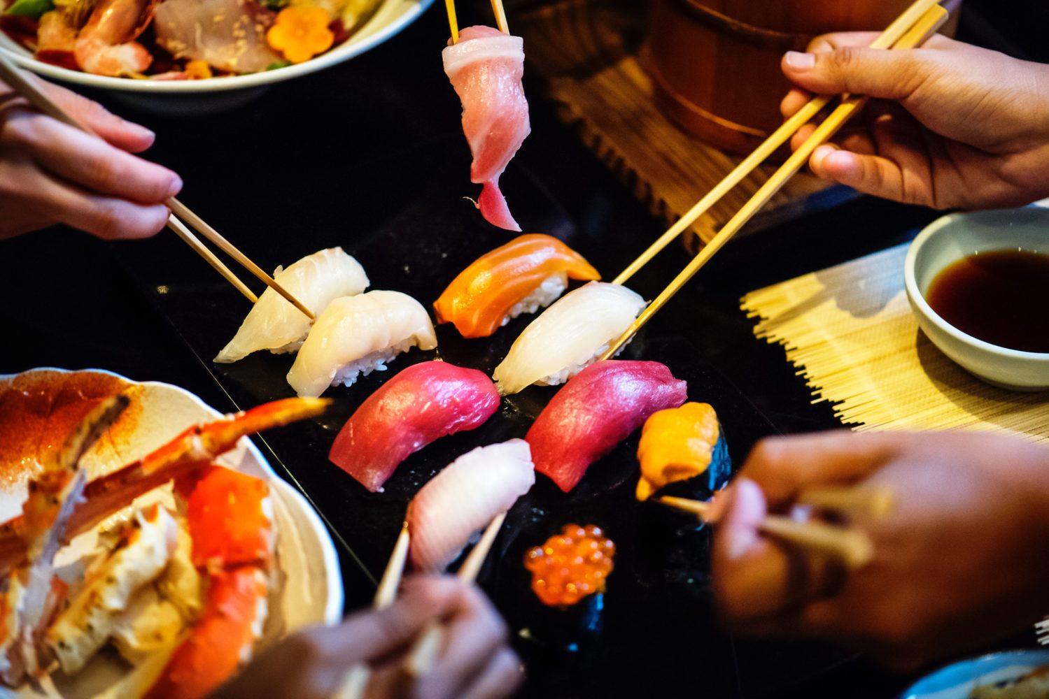 Sushi: Düsseldorf ist ein Hotspot für erstklassige japanische Restaurants und Sushi-Bars