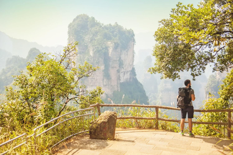 Allein Reisen: 34% wollen sich erneut trauen / Zhangjiajie, China