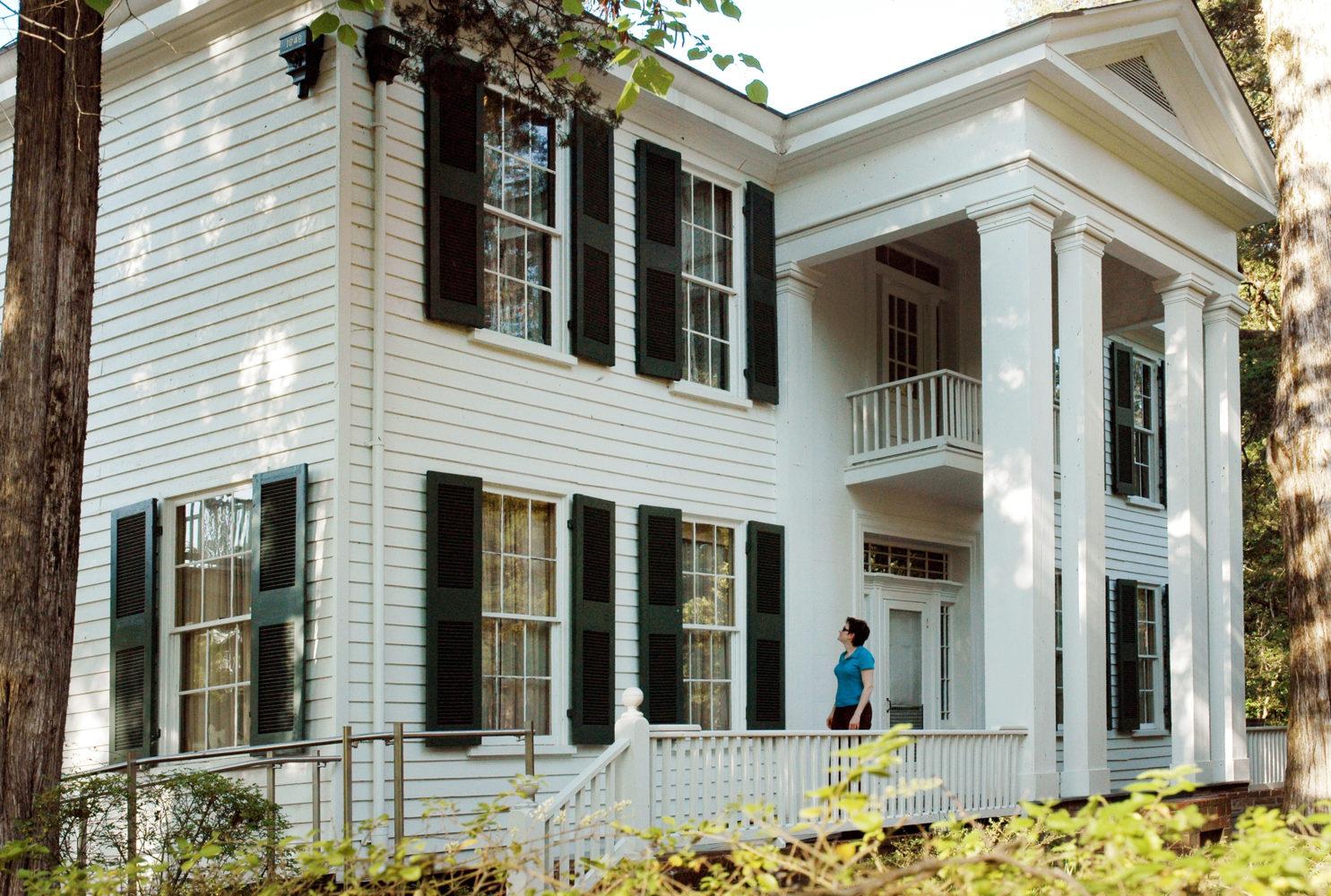 Die Villa Rowan Oak in Oxfordin der William Faulkner gelebt und gearbeitet hat / Bild: Verkehrsbüro der Stadt Memphis und des Staates Mississippi
