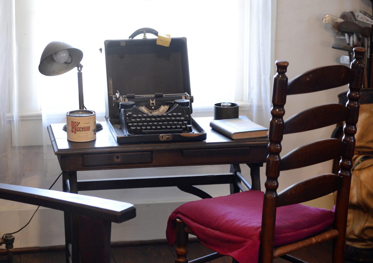 Die Schreibmaschine William Faulkners / Bild: Verkehrsbüro der Stadt Memphis und des Staates Mississippi