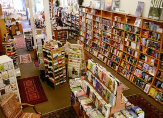 Der Buchladen Square Books in Oxford, Mississippi