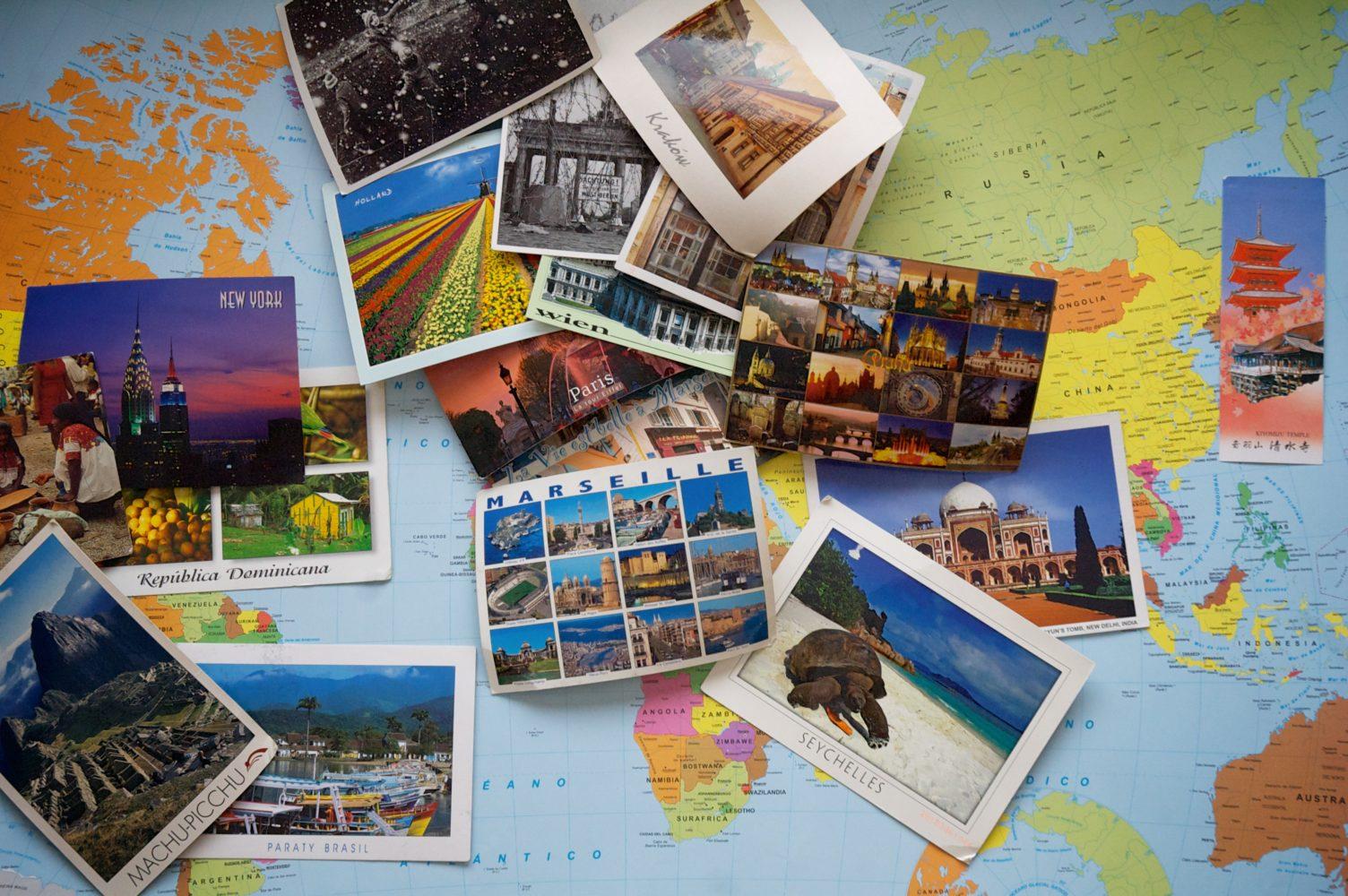 Postkarte aus den Ferien