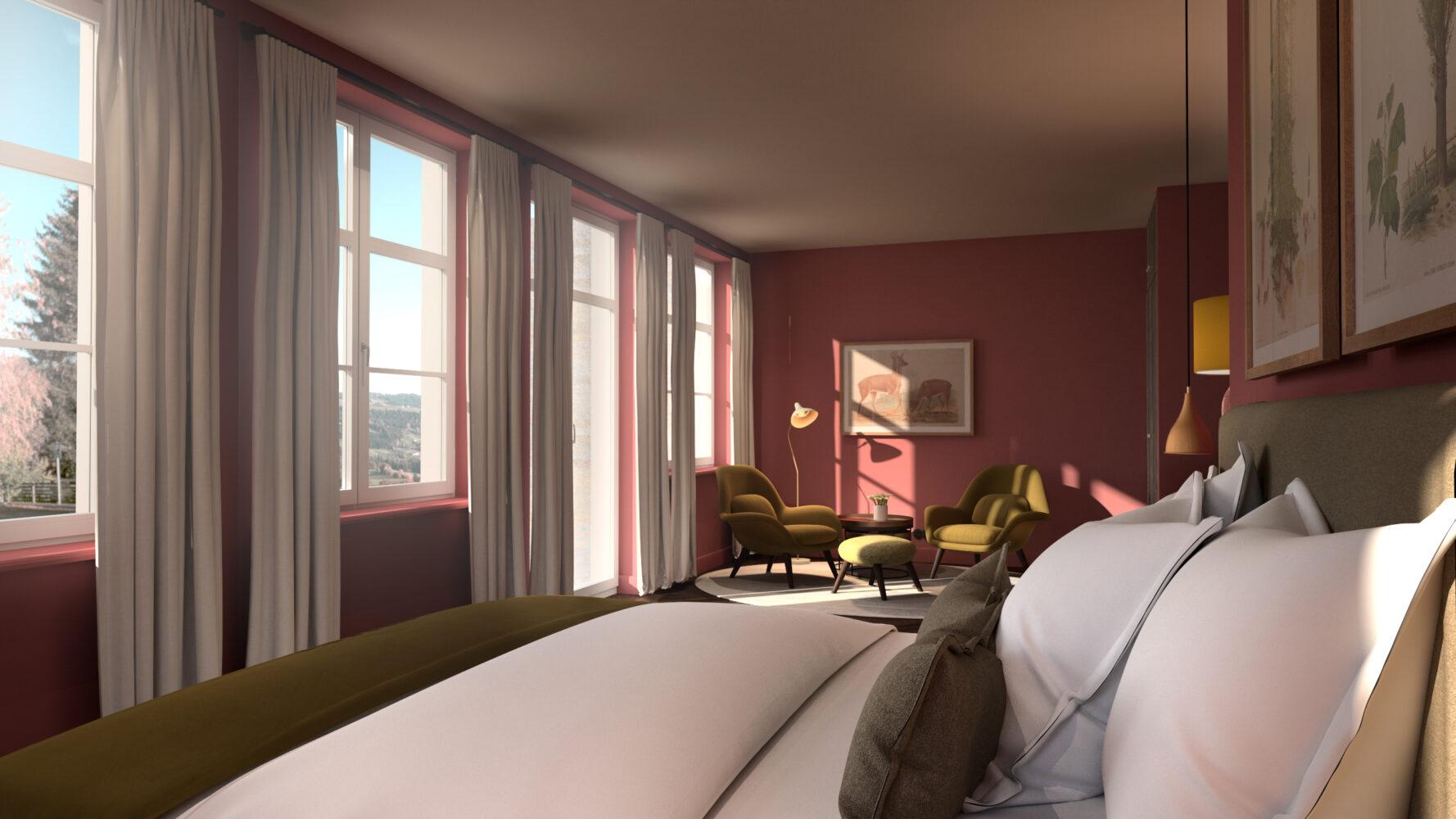 Alpenloge Zimmer
