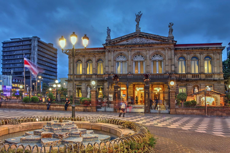 Costa Rica Teatro Nacional , San Jose / Bild: shutterstock