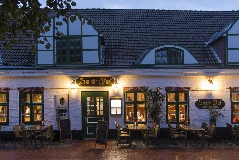 Hotel zur alten Post in Büsum, Haupthaus Aussenansicht / Bild: Hotel zur alten Post Büsum