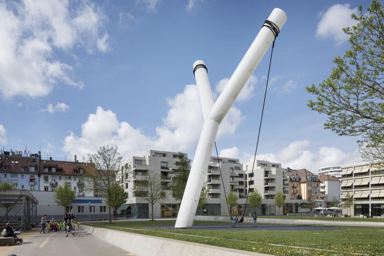 Bild: Zuerich Tourismus / Y, Badenerstrasse 372, Hardaupark in 8004 Zuerich