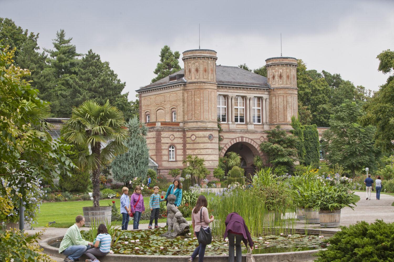 Botanischer Garten Karlsruhe: © KTG Karlsruhe Tourismus GmbH, Foto: Fabry